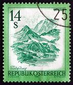 Postage stamp Austria 1982 Weisssee, Salzburg — Stock Photo