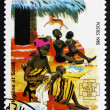 Postage stamp Djibouti 1985 Hygiene, Family Health Care — Stock Photo #52790405