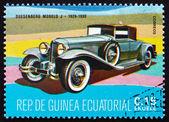 Postage stamp Equatorial Guinea 1972 Duesenberg Modelo J, 1929 - — Stock Photo