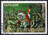 Postage stamp Equatorial Guinea 1972 Napoleon in Bavaria — Stock Photo