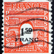 Postage stamp France 1944 Arc de Triomphe, Paris — Stock Photo #53049201