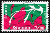 Postage stamp France 1977 Reunion, Region of France — Stock Photo