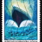 Postage stamp France 1982 35th International Film Festival, Cann — Stock Photo #53124947