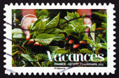 Postage stamp France 2008 Plants, Vacations — Foto Stock