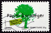 Postage stamp France 2008 Environment Protection — Стоковое фото