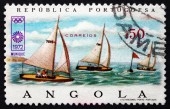 Postage stamp Angola 1972 Sailing, 20th Olympic Games, Munich — 图库照片