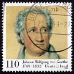 Постер, плакат: Postage stamp Germany 1999 Johann Wolfgang von Goethe