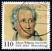 Postage stamp Germany 1999 Johann Wolfgang von Goethe — Stock Photo