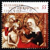 邮票德国 2007年圣伊丽莎白的匈牙利 — 图库照片