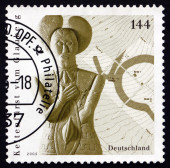 Postage stamp Germany 2005 Sculpture of Celtic Prince — Stock Photo