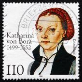 Postage stamp Germany 1999 Katharina von Bora — Stock Photo