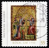 Postage stamp Germany 2005 Adoration of the Magi — Stock Photo