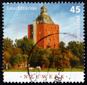 Postage stamp Germany 2010 Neuwerk, Lighthouse — Stock Photo