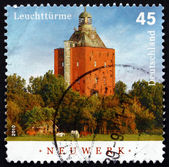 Postage stamp Germany 2010 Neuwerk, Lighthouse — Foto Stock