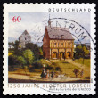 Postage stamp Germany 2014 Lorsch Monastery — Stock Photo #53479393