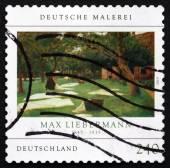 切手ドイツ 2013年ダイ rasenbleiche、最大リーバーマンによって — ストック写真