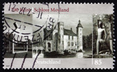 Postage stamp Germany 2007 Moyland Castle — Stock Photo