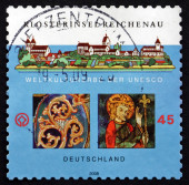 Postage stamp Germany 2008 Monastic Island of Reichenau — ストック写真