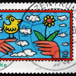 Postage stamp Germany 2008 Thank You, Greetings — Stock Photo #53669749