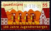 Postage stamp Germany 2009 Youth Hotels — Stockfoto