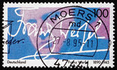Postage stamp Germany 1995 Franz Werfel, Author — ストック写真