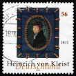 Постер, плакат: Postage stamp Germany 2002 Heinrich von Kleist Writer