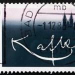 Постер, плакат: Postage stamp Germany 1983 Franz Kafka Writer