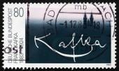Postage stamp Germany 1983 Franz Kafka, Writer — Stock Photo