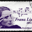 ������, ������: Postage stamp Germany 2011 Franz Liszt Hungarian Composer