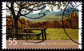 Postage stamp Germany 2012 Autumn Holidays in Germany — Foto Stock