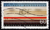 Postage stamp Germany 1991 Inter-city Express Railway — Stock Photo