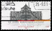 Postage stamp Germany 2000 Federal Court of Justice — Stock Photo