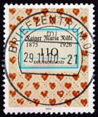 Postage stamp Germany 2000 Rainer Maria Rilke, Poet — Stock Photo