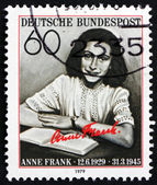 Postage stamp Germany 1979 Anne Frank, victim of the Holocaust — Stock Photo