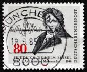Postage stamp Germany 1984 Friedrich Wilhelm Bessel, Astronomer — Stock Photo