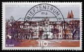 Poštovní známka německo 2001 parlament státu sasko-anhaltsko — Stock fotografie