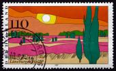 Postage stamp Germany 1997 Luneburg Heath — Stock Photo