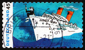 Postage stamp Germany 2010 Andrea Doria, by Udo Lindenberg — Stock Photo