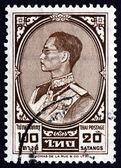 タイ切手 1962年プミポン国王 — ストック写真