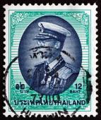タイ切手 1999年プミポン国王 — ストック写真