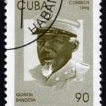 Постер, плакат: Postage stamp Cuba 1996 Quintin Bandera Revolutionary