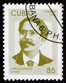 Postage stamp Cuba 1996 Juan Gualberto Gomez, Revolutionary — Stock Photo