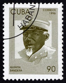 Postage stamp Cuba 1996 Quintin Bandera, Revolutionary — Stock Photo