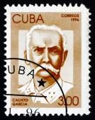 Postage stamp Cuba 1996 Calixto Garcia, Revolutionary — Stock Photo