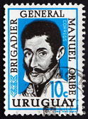 Postage stamp Uruguay 1961 General Manuel Oribe — Stock Photo