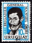 Postage stamp Uruguay 1961 General Manuel Oribe — Stok fotoğraf