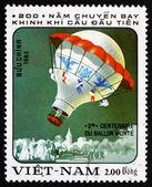 Postage stamp Vietnam 1983 Hot-air Balloon — Stock Photo