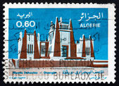 Postage stamp Algeria 1977 Sahara Museum, Ouargla — Stock Photo