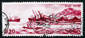 Postage stamp Israel 1969 Port of Eilat, Israel — Stock Photo