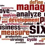 Six sigma word cloud — Stock Vector #57923019